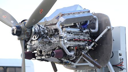 The Engineered Propulsion Systems' Graflight 8 engine design project is now in the hands of the US b