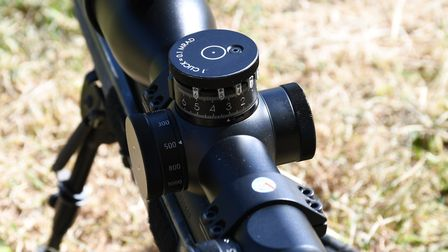 Each distance marker is individually adjusted to real world impact points
