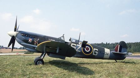 Spitfire at Jarlsberg getting ready to head home