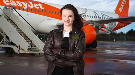 Fly in future with easyjet and it just might be your pilot will be Ellie