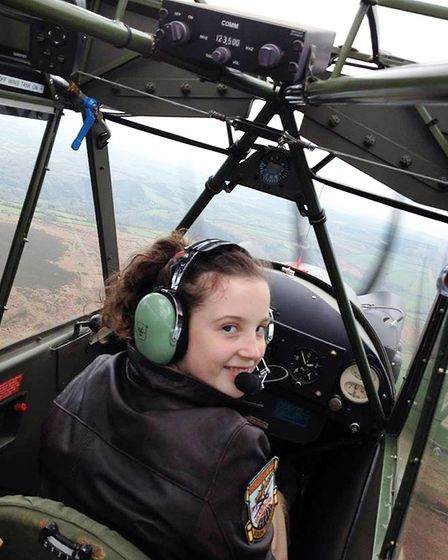 Learning the ropes in the L-4 Cub