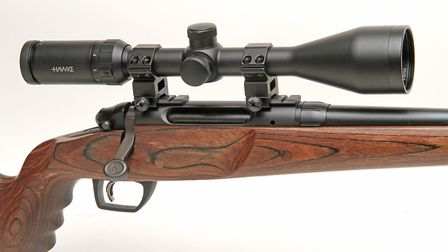 The package includes Weaver bases, mounts and a nice Hawke 3-9x50mm scope too, all worked well in th