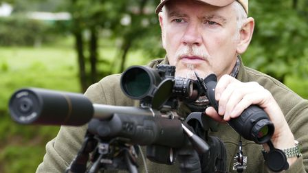 The Hawke FFP scope and T3x make for an effective comination on the corvids