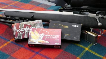 The blazzingly fast 35gr 22-250 ammo was a real surprise. I was expecting flyers but it performed su
