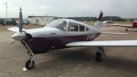 1/6th share of Piper Arrow for sale ... hangared at Goodwood