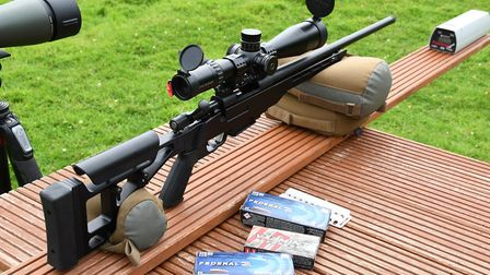 A smooth rifle to shoot from the bench with a broad range of ammunition to its liking
