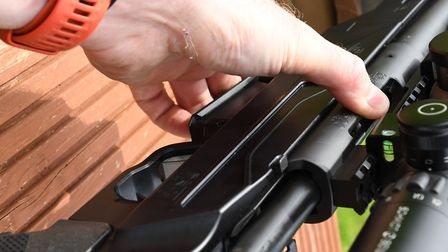 The mag needed an unusually firm squeeze to lock the latch in position, loaded and unloaded