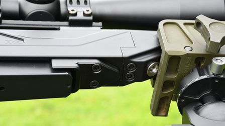 Forend locking and QR system up close