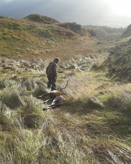 A great example of what hunting is actually all about, maintainig balance in a wild and natural envi