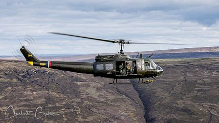 Monday 31st August 2020Picture Credit Charlotte GrahamPictures Shows:The Loach Helicopter fr