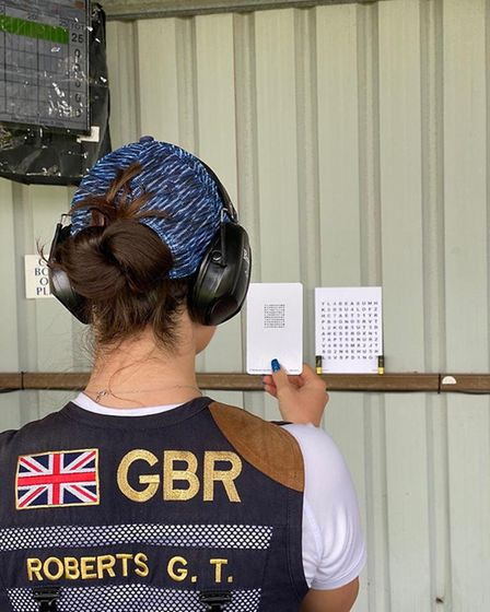 The coach and team GB shooter uses them to maximise her visual performance