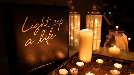 Light Up A Life services were held in Weston and Burnham.