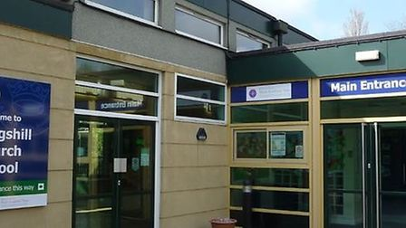 Kingshill Church School has closed after two staff members tested positive for coronavirus.