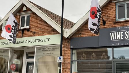 Winscombe and Sandford will commemorate Armistice Day by displaying flags until December.