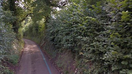 Ongoing £310,000 improvement scheme on the A368 in Banwell and Sandford.