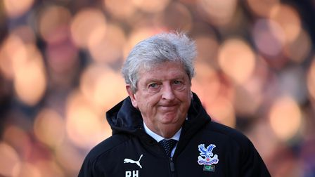 LONDON, ENGLAND - FEBRUARY 01: Roy Hodgson, Manager of Crystal Palace looks on ahead of the Premie