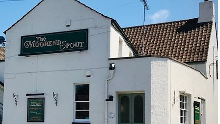 The Moorend Spout Pub in Nailsea.