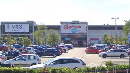 Carpetright Store on Flowerdown Retail Park.