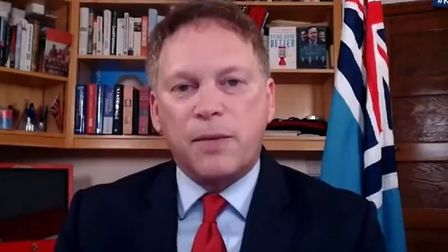 Picture of Grant Shapps on Sky News