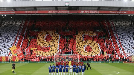 Liverpool fans remember the 96 victims of the Hillsborough Disaster on the 30th anniversary of the tragedy in 2019.