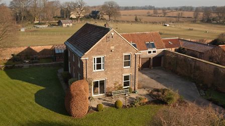 Yarmer House, Nidd, near Harrogate 1.35 million This immaculate five-bedroom country house sits i