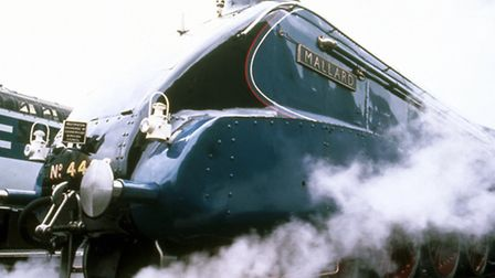 The A4 Pacific class 'Mallard' was designed by Sir Nigel Gresley (1876-1941), the chief engineer of
