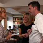 6. Christine Talbot with Spiced Pear owners Adele and Tim Bilton MUST