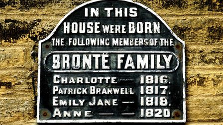 Birthplace of the Bronte sisters and brother Patrick Branwell