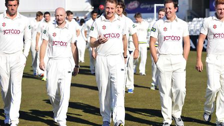 Liam Plunkett Adam Lyth cpatain Andrew Gale Joe Sayers and Jonny Bairstow and the rest of the squad