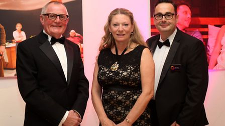 1. Peter Rippon, Vickie Priestley, Dan Bates chief executive of Sheffield Theatres