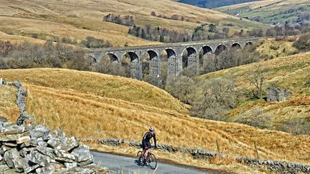 Its easy to see why cyclists are attracted to the grandeur of the Yorkshire Dales. Photo Courtesy of