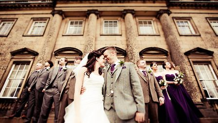 Haywood-Gillis - James Haywood and Helen Gillis, both from Huddersfield, were married at St Helens C