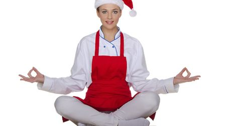 Exercise and eating well are key to keeping fit this Christmas