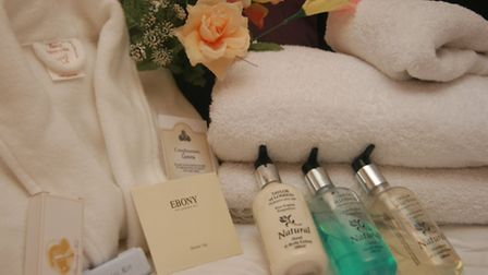 The Outlet Hotel Toiletries