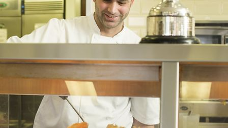 Stuart Fusco serves award-winning fish and chips