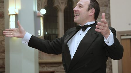 Honley Male Voice Choir conductor Steven Roberts