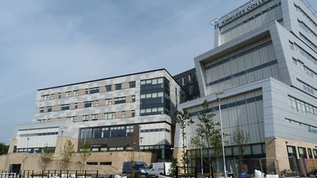 Kirklees College, where around 1,200 staff work with 20,000 students