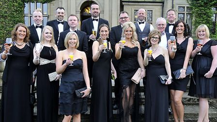 Guests gather at Yorkshires Finest Charity Ball