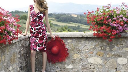 Stunning floral print dress by Michaela Louisa £145 from Snooty Frox