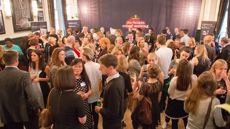 Crime writers festival launch in London 2014