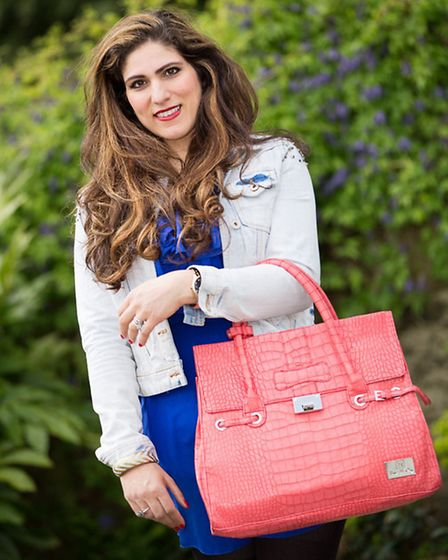 Leeds style blogger Vicki Psarias launches her modelling career with an international campaign