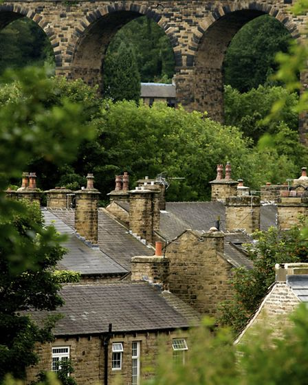 The rooftops of Denby Dale