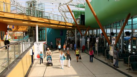 Barnsley's transport interchange is in the heart of the town