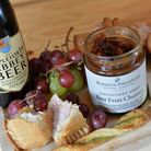 Beer Fruit Chutney served with ploughman's lunch
