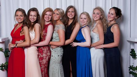 Harrogate Ladies' College students celebrate at their end-of-year ball