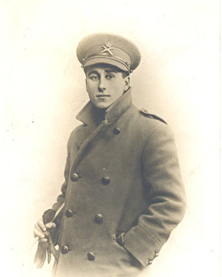 Walter Ogden, who died in the battle of Cambrai aged 19