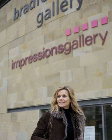 Down-to-earth designer Linda Barker creates a good impression as she takes a tour of Bradford