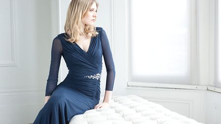 Make a subtle statement in this stunning but demure Gina Bacconi dress £269 at Snooty Frox