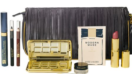 Estee Lauders The Night is Young Collection, £39 from House of Fraser, comprises a zero smudge masca