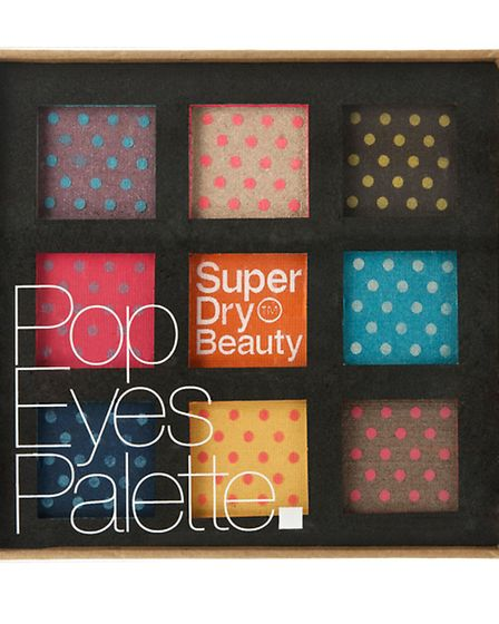 This Pop Eyes Palette (as opposed to Popeyes palette, which is mainly concerned with spinach), £15 f